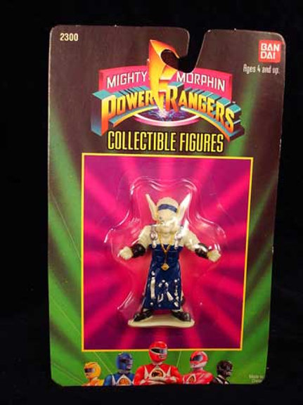 """Mighty Morphin Power Rangers 3"""" Collectible Figures Series 1 Finster"""