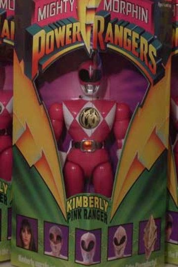 "Mighty Morphin Power Rangers Kimberly Pink Ranger 8"" Action Figure"