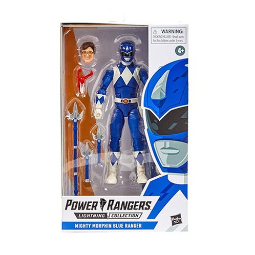 POWER RANGERS LIGHTNING COLLECTION WAVE 5 MIGHTY MORPHIN BLUE RANGER