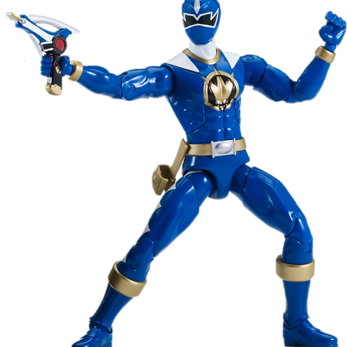 Power Rangers Legacy Collection Wave 4 Blue Dino Thunder Ranger