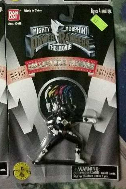 "Mighty Morphin Power Rangers The Movie 3"" Black Ranger Collectible Figure"