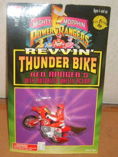 Mighty Morphin Power Rangers Red Ranger's Revvin' Thunder Bike