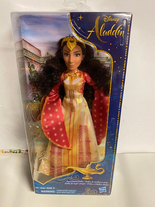 Aladdin Live Action Movie fashion doll Best Friend Dalia