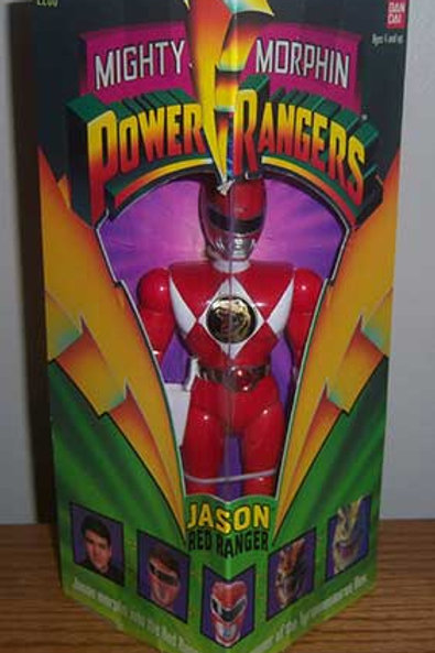 "Mighty Morphin Power Rangers Jason Red Ranger 8"" Action Figure"