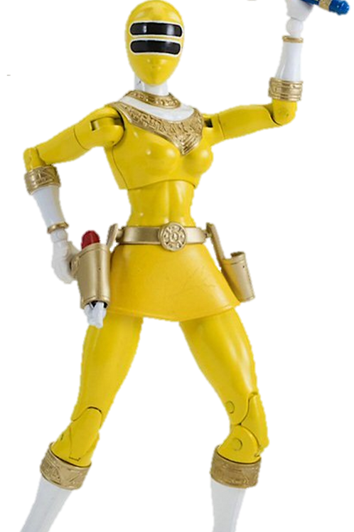 Power Rangers Legacy Collection Wave 4 Yellow Zeo Ranger
