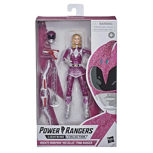 "POWER RANGERS LIGHTNING COLLECTION Mighty Morphin ""Metallic"" Pink Ranger"