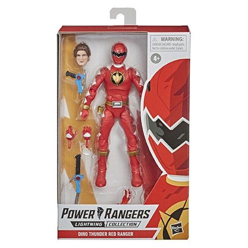 POWER RANGERS LIGHTNING COLLECTION (Wave 7) Dino Thunder Red Ranger