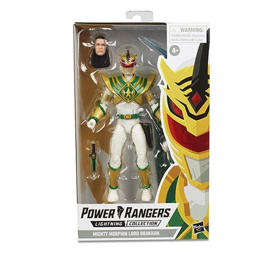 POWER RANGERS LIGHTNING COLLECTION WAVE 3 MIGHTY MORPHIN LORD DRAKKON