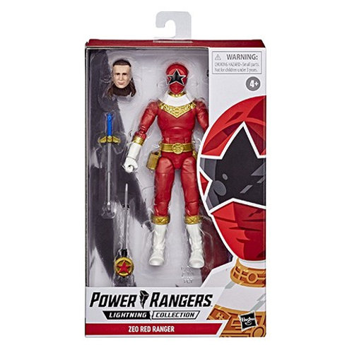 POWER RANGERS LIGHTNING COLLECTION (Wave 6) Zeo Red Ranger