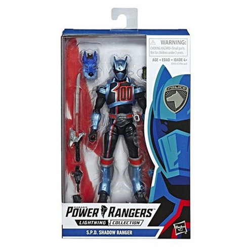 POWER RANGERS LIGHTNING COLLECTION WAVE 1 S.P.D. SHADOW RANGER