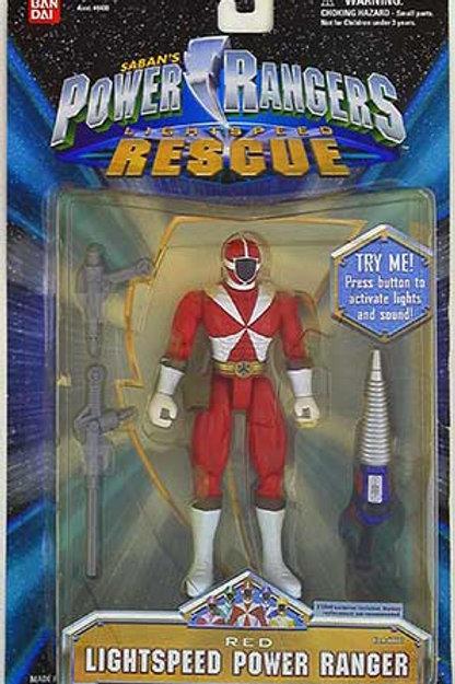 Red Lightspeed Power Ranger Spring 2000