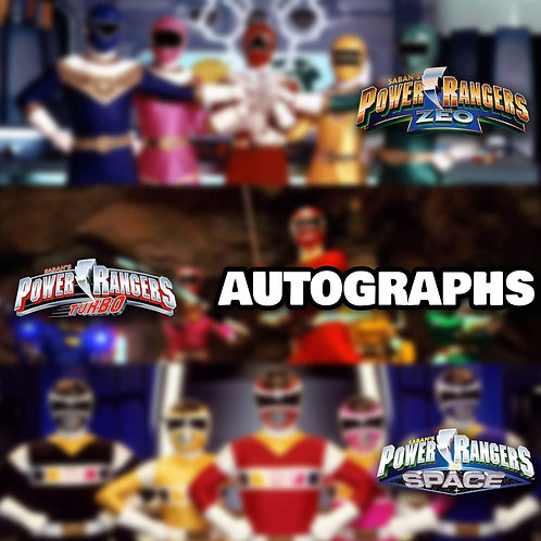 """1 Randomly Selected 8""""x10"""" Autograph from Zeo Turbo or In Space"""