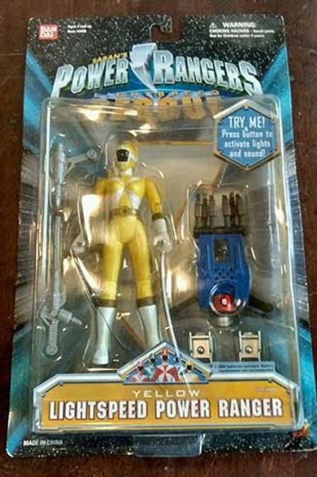 Yellow Lightspeed Power Ranger Spring 2000