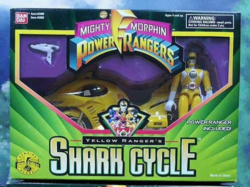 Mighty Morphin Power Rangers Yellow Ranger's Shark Cycle