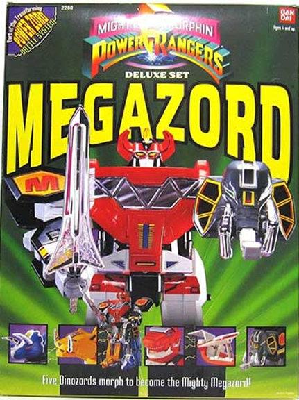Mighty Morphin Power Rangers Deluxe Megazord
