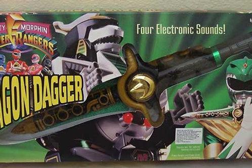 Mighty Morphin Power Rangers Green Ranger Dragon Dagger 1994 Edition