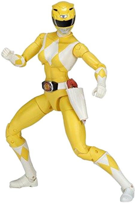 Power Rangers Legacy Collection Wave 3 Mighty Morphin Yellow Ranger