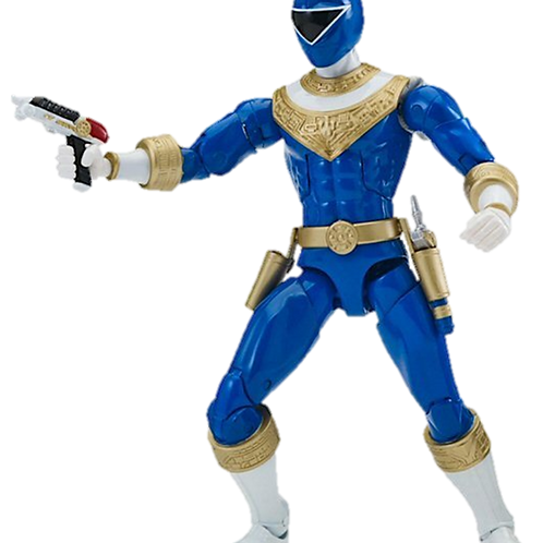 Power Rangers Legacy Collection Wave 5 Blue Zeo Ranger