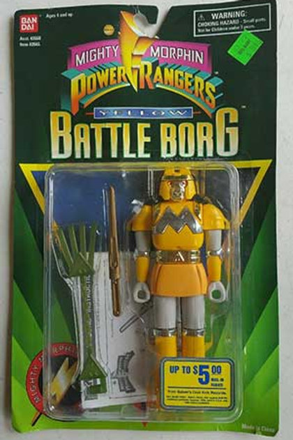 Mighty Morphin Power Rangers Alien Rangers Yellow Battle Borg