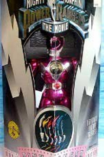 """Mighty Morphin Power Rangers 8"""" 1995 Movie Edition Pink Ranger Action F"""