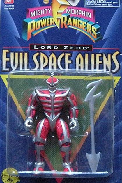 "Mighty Morphin Power Rangers Evil Space Aliens 5.5"" Movie Edition Lord Zedd"