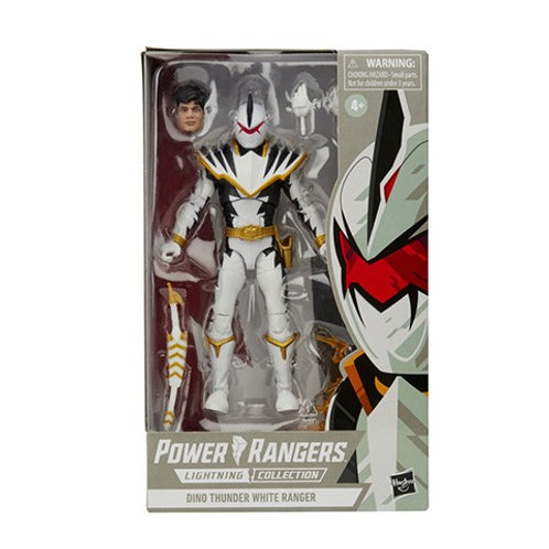 POWER RANGERS LIGHTNING COLLECTION Dino Thunder White Ranger