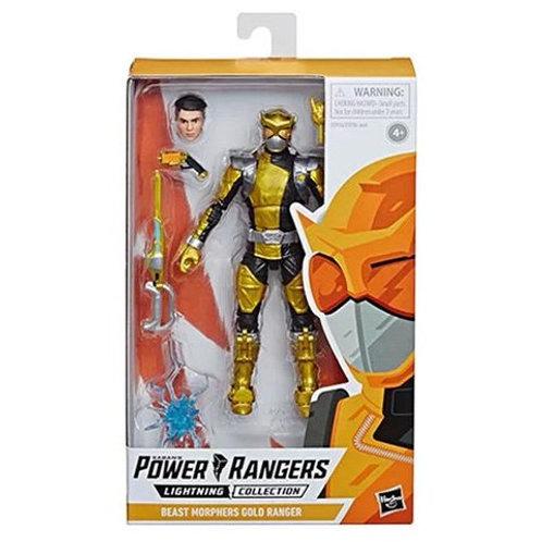 POWER RANGERS LIGHTNING COLLECTION WAVE 2 BEAST MORPHERS GOLD RANGER