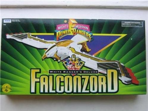Mighty Morphin Power Rangers White Ranger's Deluxe Falconzord