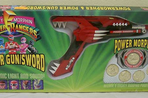 Mighty Morphin Power Rangers Power Morpher and Power Gun/sword