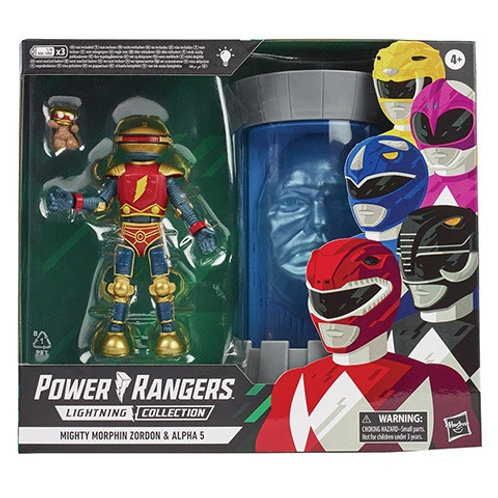 POWER RANGERS LIGHTNING COLLECTION Mighty Morphin Zordon & Alpha 5