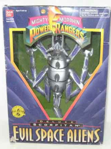 "Mighty Morphin Power Rangers Evil Space Aliens Scorpitan 8"" Action Figure"
