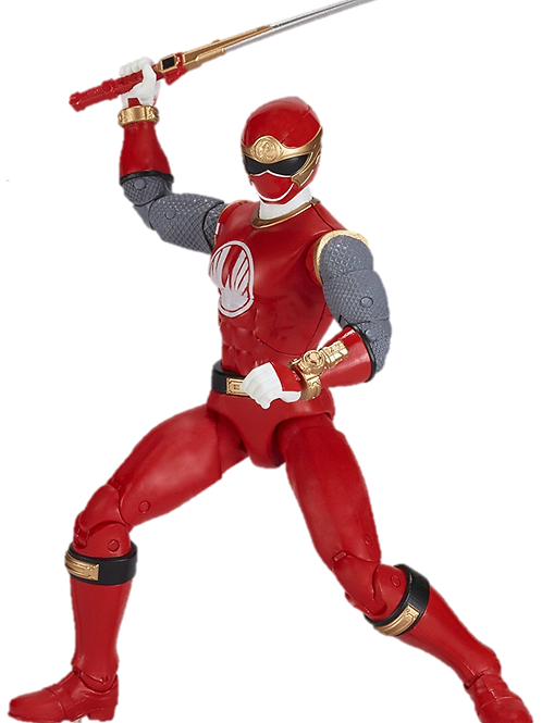 Power Rangers Legacy Collection Wave 1 Red Wind Ranger