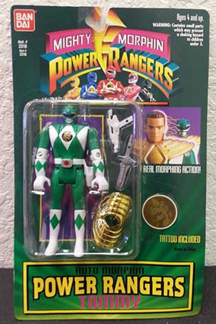 Mighty Morphin Power Rangers Auto Morphin Tommy Green Ranger Action Figure