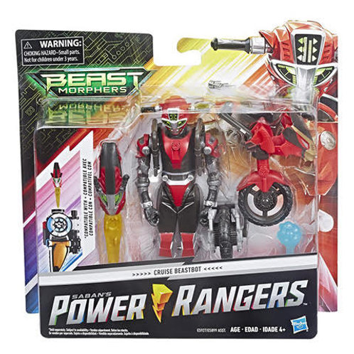 Power Rangers Beast Morphers Cruise Beastbot Action Figure