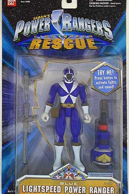 Blue Lightspeed Power Ranger Spring 2000