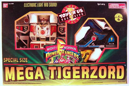 Mighty Morphin Power Rangers Special Size Mega Tigerzord