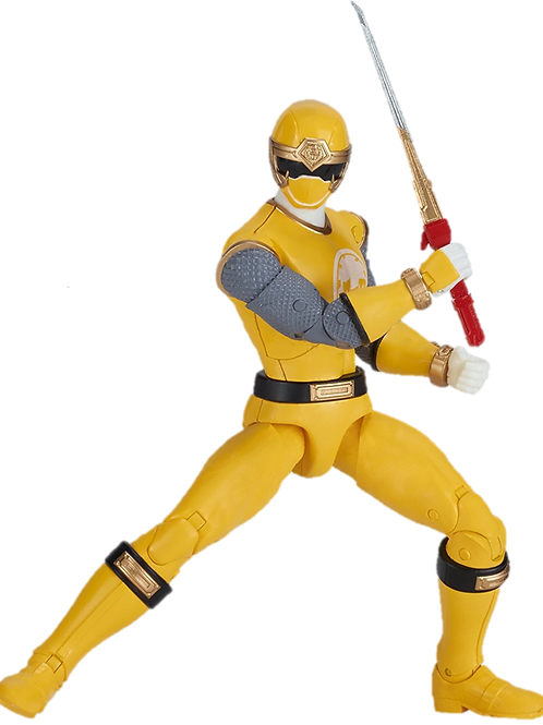 Power Rangers Legacy Collection Wave 1 Yellow Wind Ranger