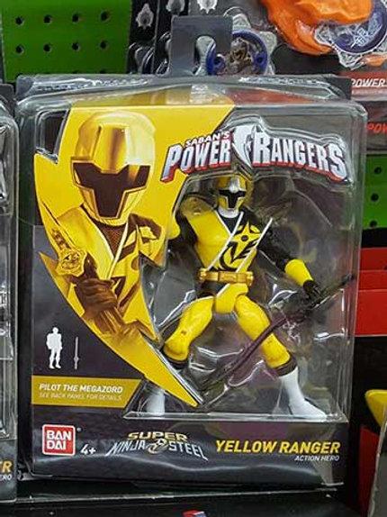 Yellow Ranger Action Hero