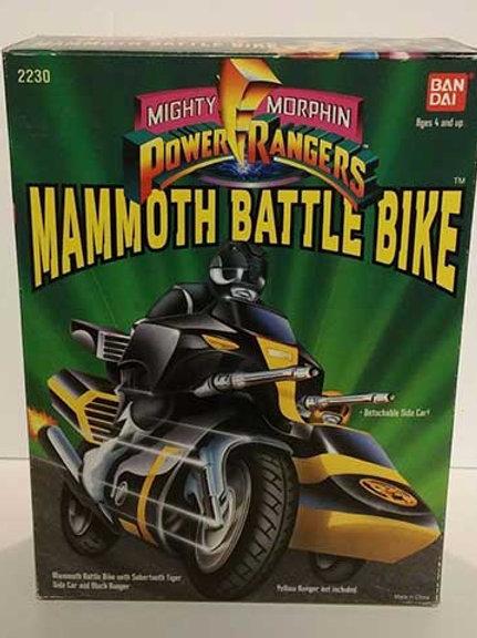 Mighty Morphin Power Rangers Battle Bikes - Mammoth Battle Bike