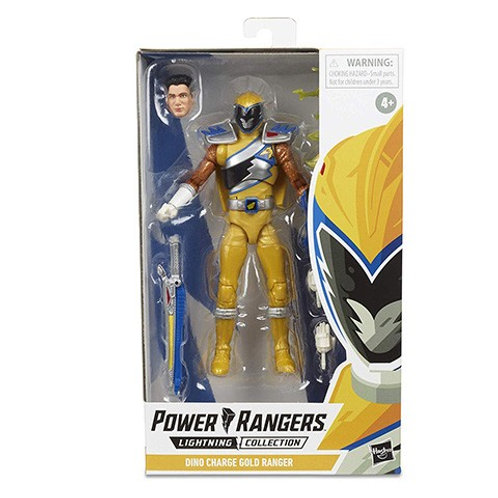 POWER RANGERS LIGHTNING COLLECTION WAVE 3 DINO CHARGE GOLD RANGER