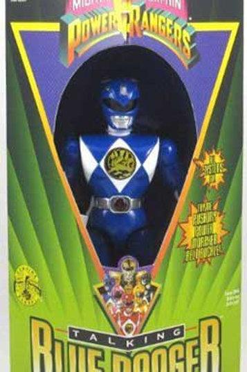 "Mighty Morphin Power Rangers 8"" Talking Blue Power Ranger"