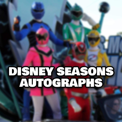 "1 Randomly Selected 8""x10"" Autograph from a Disney Season"