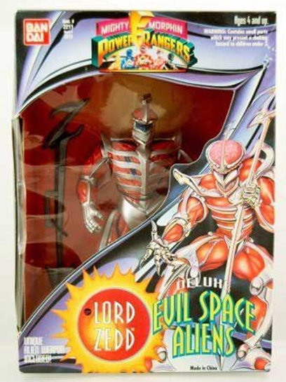 "Mighty Morphin Power Rangers Deluxe Evil Space Aliens Lord Zedd 8"" Action Figure"