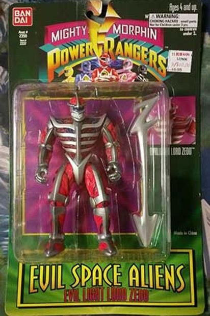 "Mighty Morphin Power Rangers Evil Space Aliens 5.5"" Evil Light Lord Zedd"