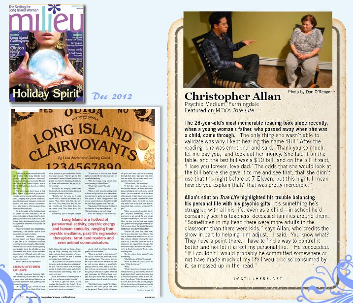 Milieu Magazine Cover Story