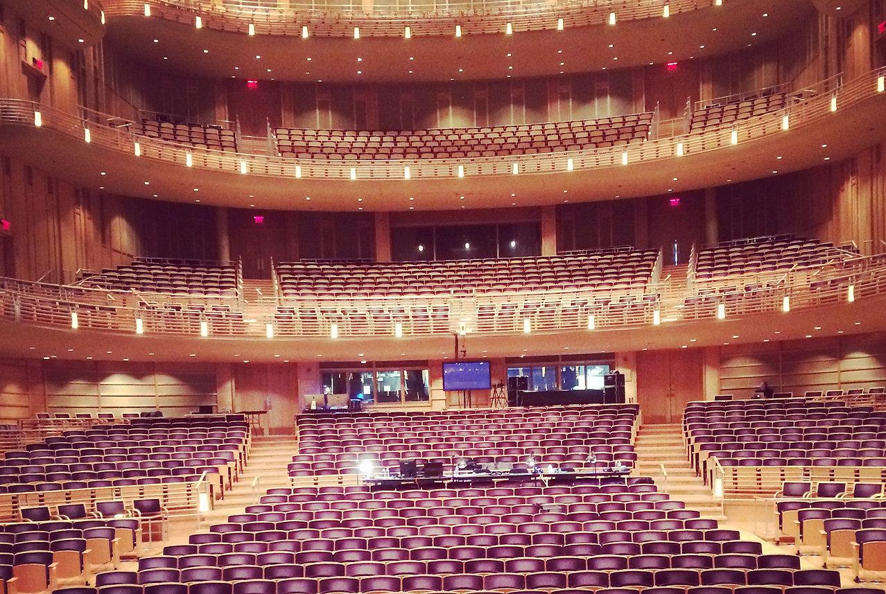 Theater, Strathmore Center