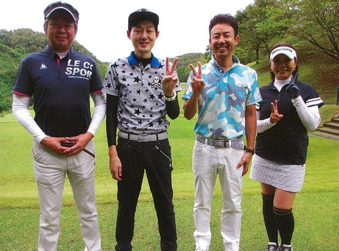 第4回金沢敬友グリーン会 ゴルフコンペが開催されました。