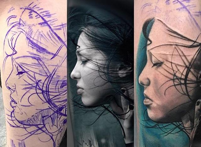 Stencil.Design.Tattoo__stencilstuff #ste
