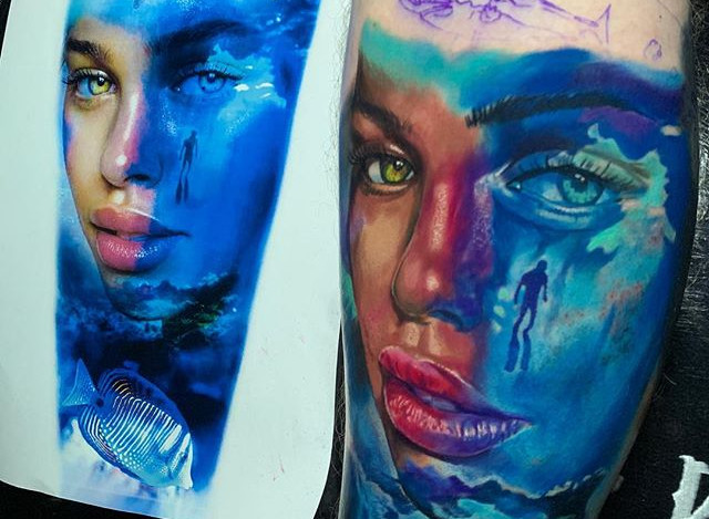 LADY OF THE SEA -_Not finished_#tattoos#