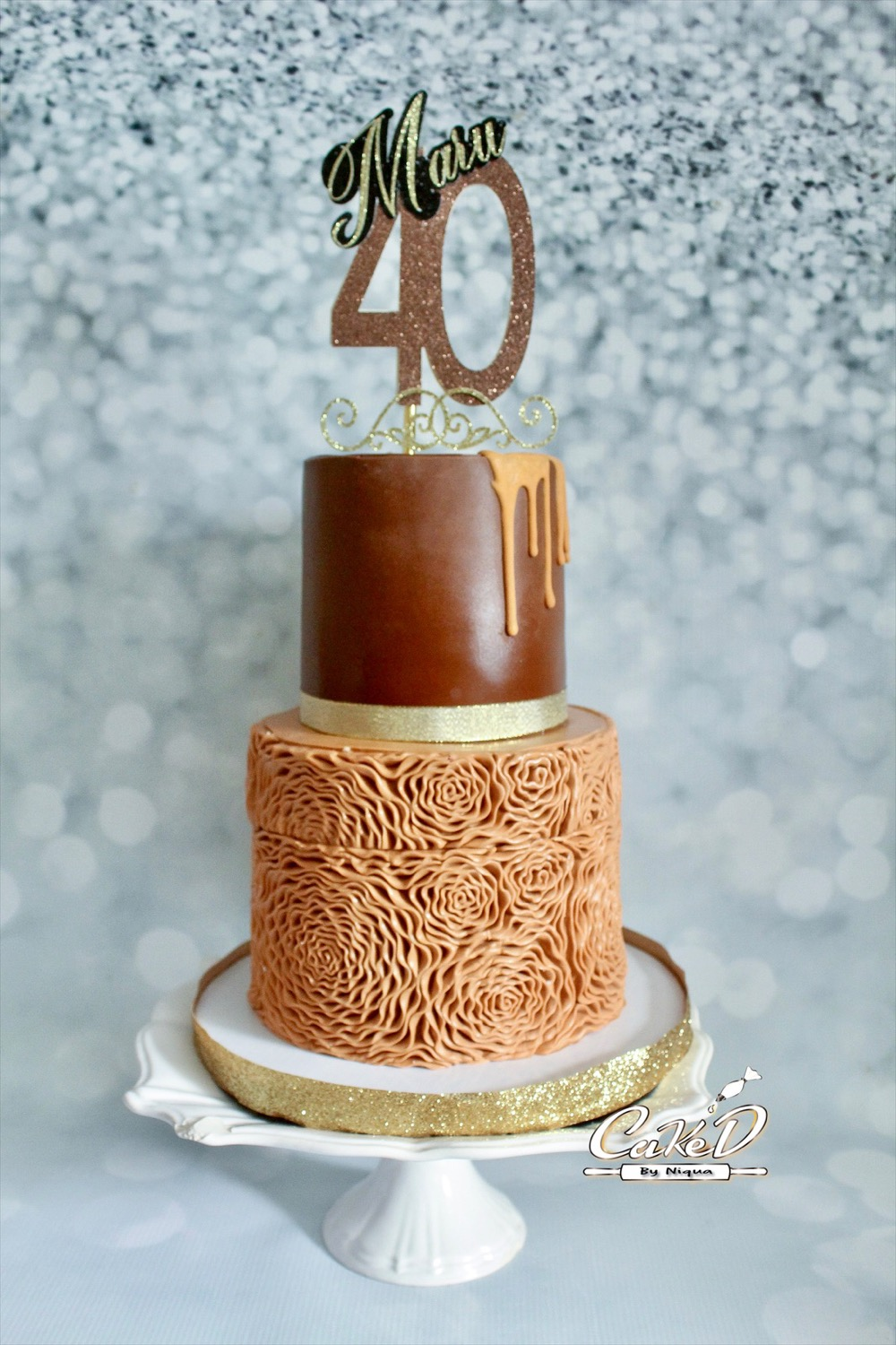 Shades of Brown Cake
